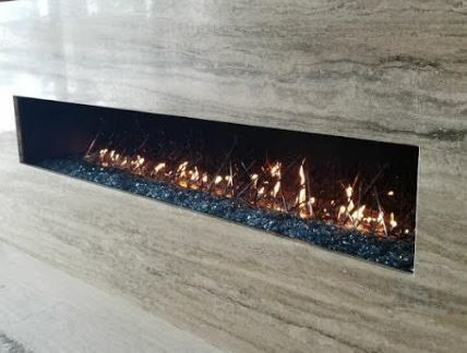 Linear Fireplace Installation in Naples, FL (1)