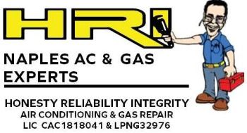 HVAC services by HRI Naples AC & Gas Experts
