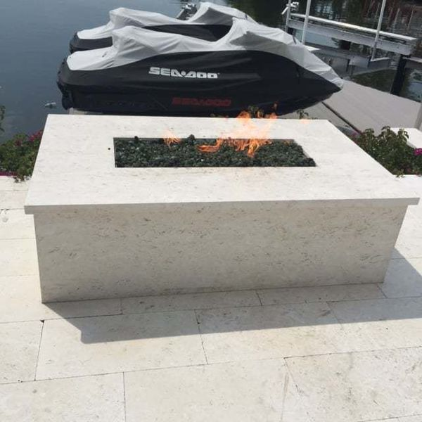 Outdoor Fireplace in Naples, FL (1)